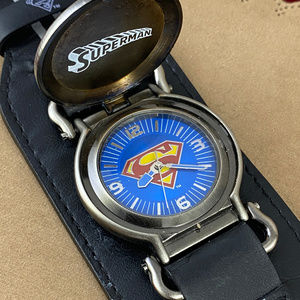 Rare DC Comics Superman Covered Watch
